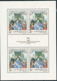 Tsjechoslowakije, michel kb 1805, xx