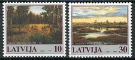 Letland, michel 477/78, xx