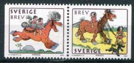 Zweden, michel 2266/67, xx