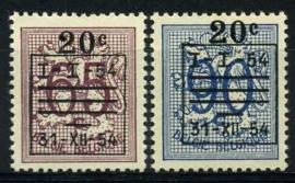 Belgie, obp 941/42,xx