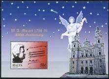 Malta , michel blok 35 , xx