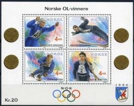Noorwegen, michel blok 17, xx