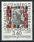 Liechtenstein, michel 1223, xx