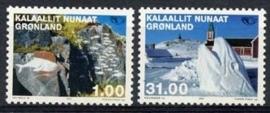 Groenland , michel 376/77 , xx