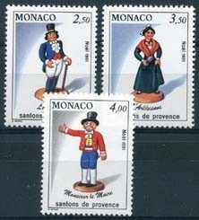 Monaco, michel 2035/37, xx