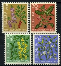 Zwitserland, michel 1042/45,xx