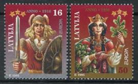 Letland, michel 414/15, xx