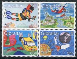 Gibraltar, michel 901/04, xx