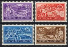 Liechtenstein, michel 152/55, xx