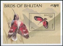 Bhutan, michel blok 214, xx