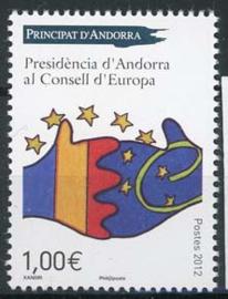 Andorra Fr., michel 752, xx