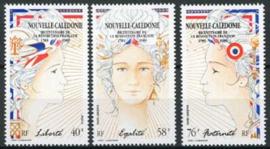 N.Caledonie, michel 852/54, xx