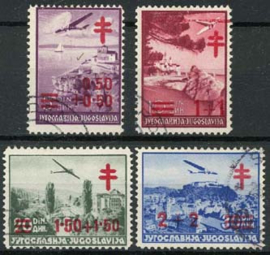 Joegoslavie, michel 429/32, o