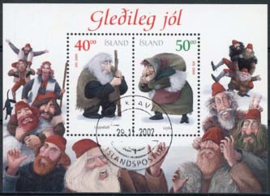 IJsland, michel blok 28, o