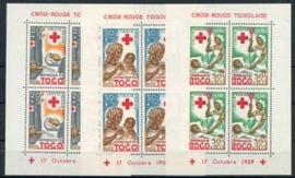 Togo, michel blok 2/4 A, xx