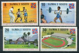 Samoa, michel 293/96, xx