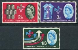 Engeland, michel 351/53 y, x