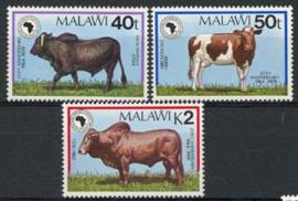 Malawi, michel 534/36, xx