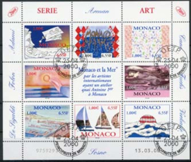 Monaco, michel kb 2490/97, o