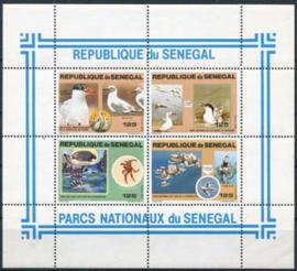 Senegal, michel blok 40, xx