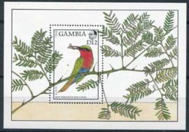 Gambia, michel blok 43, xx