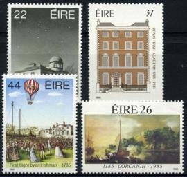 Ierland, michel 555/58, xx