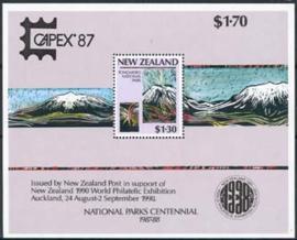 N.Zeeland, michel blok 13 I , xx