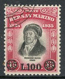 S.Marino, michel 402, o