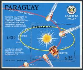 Paraguay, michel blok 435, xx