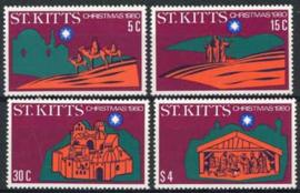 St.Kitts, michel 40/43, xx