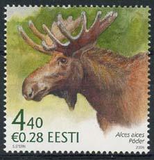 Estland, michel 542, xx