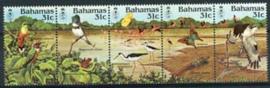 Bahamas, michel 570/74, xx