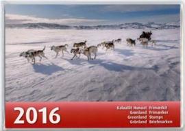 Groenland, officiele jaarset 2016