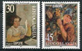 Joegoslavie, michel 3042/43, xx