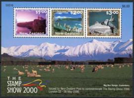 N.Zeeland, michel blok 111, xx