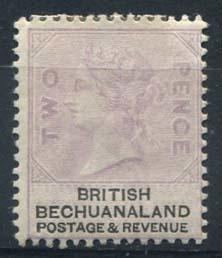 Bechuanaland, michel 11, x