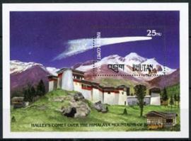 Bhutan, michel blok 133 A, xx