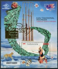 Indonesie, zbl. blok 299x, xx