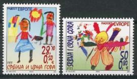 Joegoslavie, michel 3150/51, xx