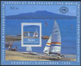 N.Zeeland, michel blok 25, xx