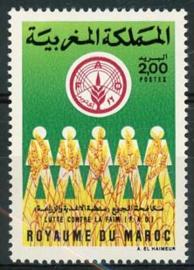 Marokko, michel 1101, xx