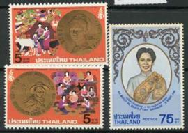 Thailand, michel 946/48, xx