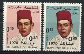 Marokko, michel 664/65, xx