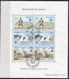 Monaco, michel blok 15, o