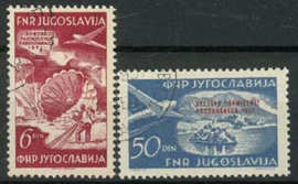 Joegoslavie, michel 666/67, o