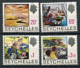 Seychelles, michel 332/35, xx