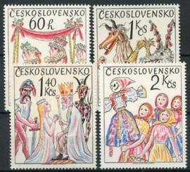 Tsjechoslowakije, michel 2248/51, xx