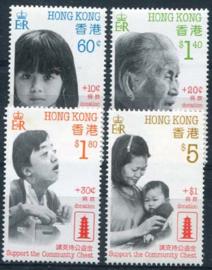 Hong Kong, michel 551/54, xx