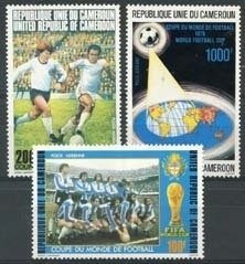 Cameroun, michel 885/87, xx