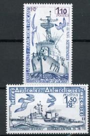 Antarctica Fr., michel 138/39, xx